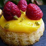 recette Fondants amande-amaretto et crème au citron