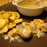recette marmites de saumon au lait de coco(st martin)
