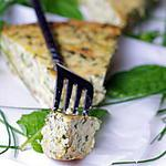 FRITTATA DE COURGETTES AUX HERBES INRATABLE