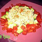 recette Assiette d'Avocat Surimi Tomate