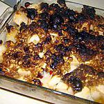 recette Entremets pommes-poires-canneberges