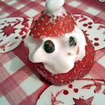 recette fraises pére noel du pole nord