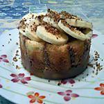 recette La charlotte au chocolat/banane de Jamonac