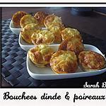 recette Bouchées dinde et poireaux