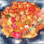 recette Porc à l'ananas à la sauce aigre-douce