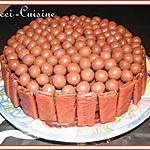Royal au chocolat et Maltesers