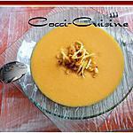 recette Soupe de potiron aillés