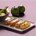 recette Nems très forts ou nems de surimi au raifort émulsion mangue