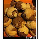 recette Ghribia marbré (Montecaos vanille-choco)
