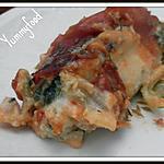 recette Cannelloni Epinard Ricotta