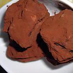 recette Truffes chocolatées et noix de cajou