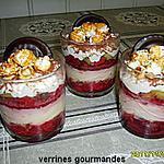 recette VERRINES GOURMANDES