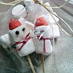recette Bonhommes de neige chamallow