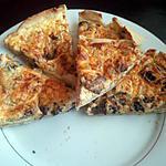 recette quiche champignons ail et fine herbe