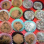 mes truffes onctueuses au chocolat noir