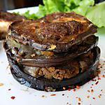 recette Millefeuille d'aubergines