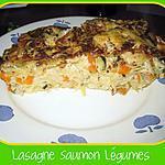 recette *-*-* Lasagne au Saumon & Légumes *-*-*