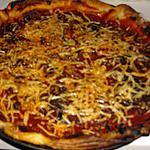 recette Feuilletté à la tomates et anchoix.