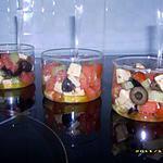 recette verrines fraîches de tomates et gouda au cumin