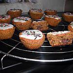 recette Cupcakes aux chocobons coeur fondant au nutella