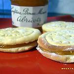 recette mes biscuits maison à la confiture d'abricots
