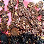 recette Croquants ultra-fin de cacao au turron: