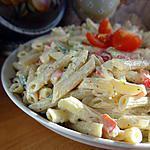 recette Salade de pâtes délicieuse