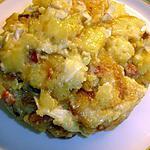 recette Pommes de terre Lardons et Camembert