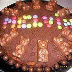 recette gâteau à la noix de coco et au nutella (pour les 9 ans de mon fils Melvin)