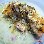 recette pavés de saumon aux petits légumes en papillote