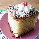 Basboussa (Gâteau fondant à la noix de coco )