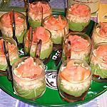 recette Verrine Tomates ~ Avocat ~ Surimi