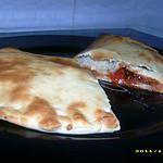 pizza aux anchois façon chausson
