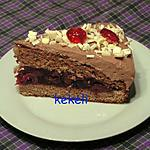 recette Gâteau au chocolat et cerises