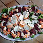 recette salade de langouste