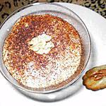 recette tiramisu à la crème de marrons et madeleines aux noisettes