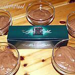 recette mousse au chocolat et à la menthe