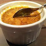 recette Petite crème au café et pain d'épices