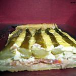 recette Tarte aux apserges vertes et à la ricotta
