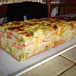 recette terrine de courgettes et de saumon fumé