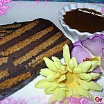 recette terrine de chocolat aux spéculoos