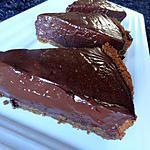 recette Tarte au chocolat façon danette