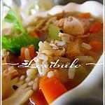 recette Soupe au poulet et aux nouilles