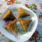 recette samoussas au poulet