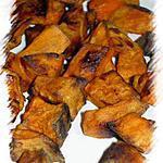 recette Dés de frite de patate douce