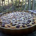 recette Clafouti cerises et rose