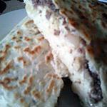 recette pain jradek farci au viande hachée