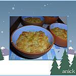 recette Crumble poires et gingembre confit