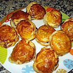recette FEUILLETÉS BANANE-NUTELLA