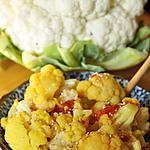 recette Chou-fleur à l'indienne